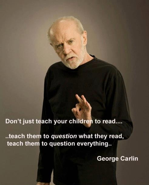 George Carlin Quote | Library Market